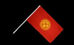 Stockflagge Kirgisistan Kirgistan