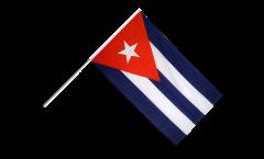 Stockflagge Kuba