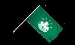 Stockflagge Macao Macau