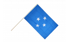 Stockflagge Mikronesien