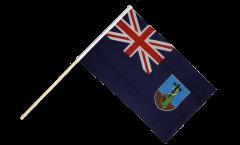 Stockflagge Montserrat