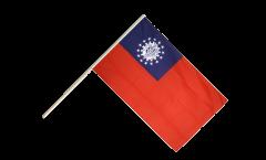 Stockflagge Myanmar alt 1974-2010