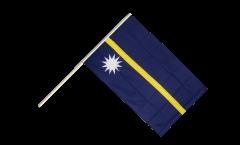 Stockflagge Nauru