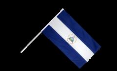 Stockflagge Nicaragua