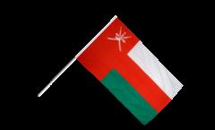 Stockflagge Oman