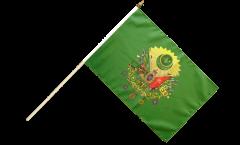 Stockflagge Osmanisches Reich Wappen