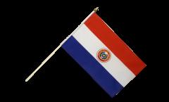 Stockflagge Paraguay - 30 x 45 cm