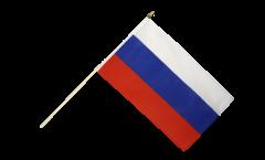 Stockflagge Russland - 30 x 45 cm