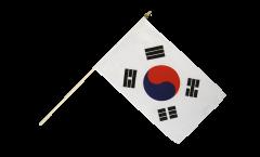 Stockflagge Südkorea - 30 x 45 cm