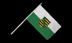 Stockflagge Sachsen