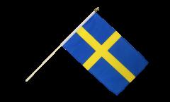 Stockflagge Schweden - 30 x 45 cm