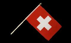 Stockflagge Schweiz