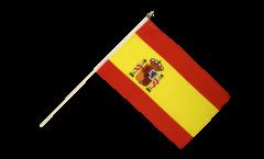 Stockflagge Spanien - 30 x 45 cm