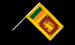 Stockflagge Sri Lanka