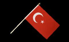 Stockflagge Türkei - 30 x 45 cm
