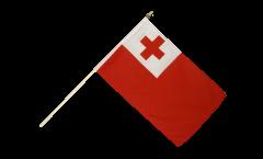 Stockflagge Tonga - 30 x 45 cm