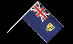 Stockflagge Turks- und Caicosinseln