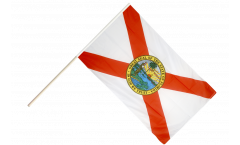 Stockflagge USA Florida