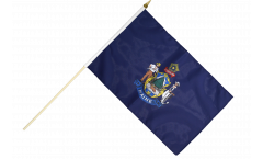 Stockflagge USA Maine