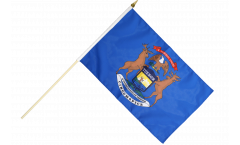 Stockflagge USA Michigan