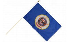 Stockflagge USA Minnesota