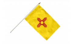 Stockflagge USA New Mexico