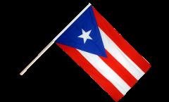 Stockflagge USA Puerto Rico
