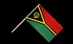 Stockflagge Vanuatu
