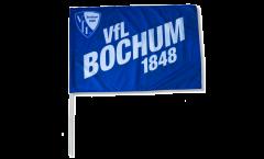 Stockflagge VfL Bochum blau