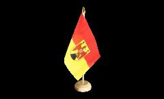 Tischflagge Österreich Burgenland
