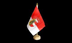 Tischflagge Österreich Salzburg