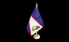 Tischflagge Amerikanisch Samoa