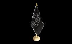 Tischflagge Baphomet Church of Satan