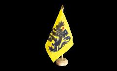 Tischflagge Belgien Flandern