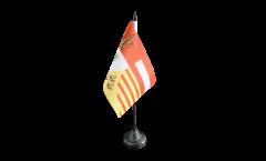 Tischflagge Belgien Lüttich Provinz