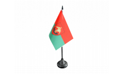 Tischflagge Belgien Stadt Brüssel