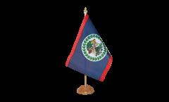 Tischflagge Belize