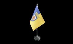 Tischflagge Chile Santiago de Chile