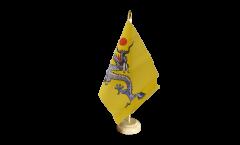 Tischflagge China Qing Dynastie