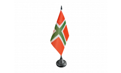 Tischflagge Dänemark Bornholm - 10 x 15 cm