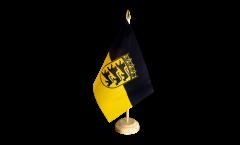 Tischflagge Deutschland Baden-Württemberg