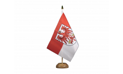 Tischflagge Deutschland Brandenburg