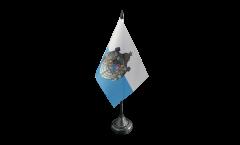 Tischflagge Deutschland Königreich Bayern 1806-1918