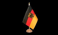 Tischflagge Deutschland mit Adler