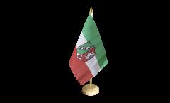 Tischflagge Deutschland Nordrhein-Westfalen