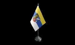 Tischflagge Deutschland Oberpfalz