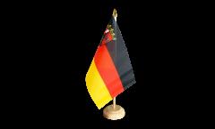 Tischflagge Deutschland Rheinland-Pfalz
