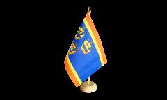 Tischflagge Deutschland Stadt Eiderstedt - 15 x 22 cm