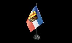 Tischflagge Deutschland Stadt Mannheim - 10 x 15 cm