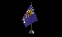 Tischflagge Deutschland Stadt Rügen - 10 x 15 cm